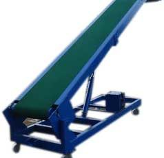 Hydraulic Truck Loader Unloader Belt Conveyor