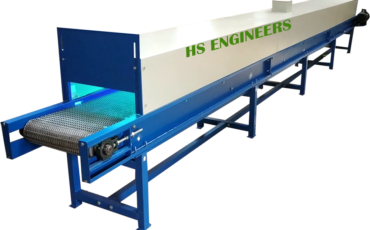 Vegetable UV Disinfection Sterlization Conveyor
