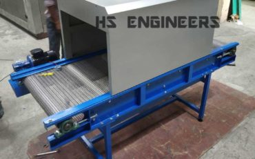 UV Disinfectant wiremesh Conveyor supplied to Mumbai