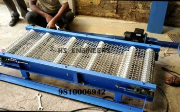 Foodgrade SS Wiremesh Conveyors