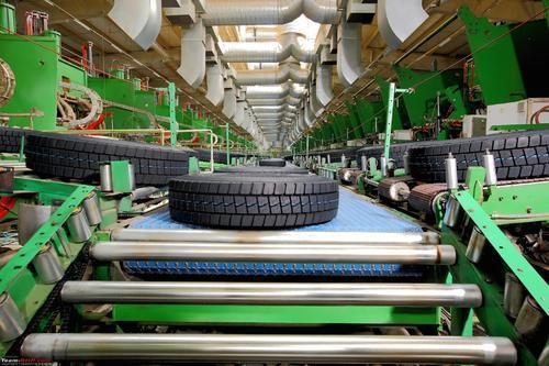 tyre industry conveyor